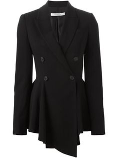 Shop Givenchy asymmetric blazer in Satù from the world's best independent boutiques at farfetch.com. Shop 300 boutiques at one address.