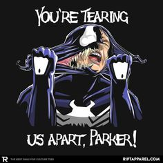 "427 Likes, 17 Comments - RIPT Apparel (RIPT Apparel) on Instagram: """"Tearing Us Apart"" by boltfromtheblue 💥 Purchase this tee for $13 at RIPT Apparel 💥 Only available…"""