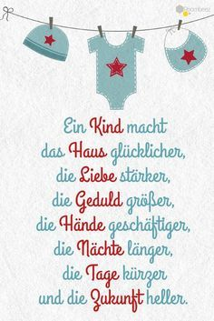 Diesen und viele weitere niedliche Grüße & cards This and many other cute greetings to the birth can be found on ROOMBEEZ ★ The post # sayings # greeting cards These and many more cute greetings & appeared first on DIY. Baby Quotes, Quotes For Kids, Baby Sayings, Son Quotes, Sister Quotes, Daughter Quotes, Family Quotes, Girl Quotes, Baby Shower Mixto