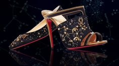 Christian Louboutin designed a line of horoscope-specific shoes exclusively for online retailer Moda Operandi