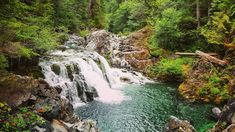 Opal Creek Trail is a 6.5 mile moderately trafficked out and back trail located near Detroit, Oregon that features a waterfall and is good for all skill levels. Goes through an old mining town!
