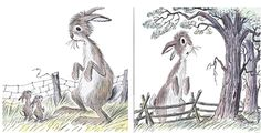 Huge Harold by Bill Pete is a book about-- you guessed it-- a giant rabbit. This silly rabbit struggles to find his place in the world, until he becomes a champion trotter. Told in rhyming couplets with beautiful Pete-esque illustrations, this story will delight young and old.