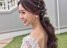 本当に可愛いポニーテールのブライダルアレンジまとめ Hair Arrange, Wedding Beauty, About Hair, Weeding, Hair Goals, Wedding Hairstyles, Hair Color, Hair Beauty, Hair Accessories