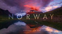 NORWAY - A Time-Lapse Adventure.  The video includes amazingly scenic Norway locations, including Lofoten, Senja, Helgelandskysten, Geirangerfjorden, Nærøyfjorden and Preikestolen.
