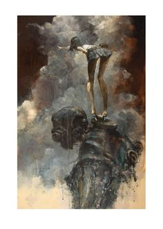 Ashley Wood's There print