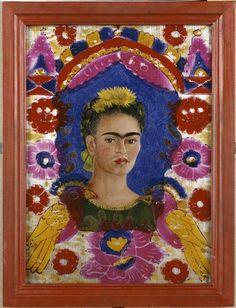 """Frida Kahlo   """"The Frame""""   Images d'Art"""