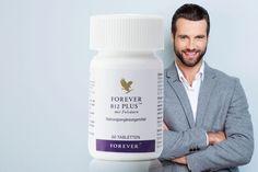 Nur in Deutschland erhältlich.  Mit dieser Nahrungsergänzung erhältst du eine Kombination aus Vitamin B12 plus und Folsäure.  Die perfekte Kombination aus Vitamin B12 und Folsäure. Vitamin B 12 trägt zu einem normalen Energiestoffwechsel und zur Verringerung von Müdigkeit und Ermüdung bei. Folsäure trägt zusätzlich zu einer normalen Funktion des Immunsystems bei. Forever Aloe, Aloe Vera, Vitamin B12 Mangel, Forever Living Products, Shampoo, Business, Immune System, Metabolism, Forever Products