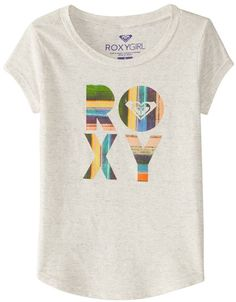 Roxy Girls' Fiesta Beach RG Fashion Crew (816) - 8164743