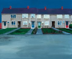 George Shaw, No. 57, 1996, © the Artist. Courtesy Wilkinson Gallery, London, http://www.thisistomorrow.info/viewArticle.aspx?artId=691=George%20Shaw:%20The%20Sly%20and%20Unseen%20Day