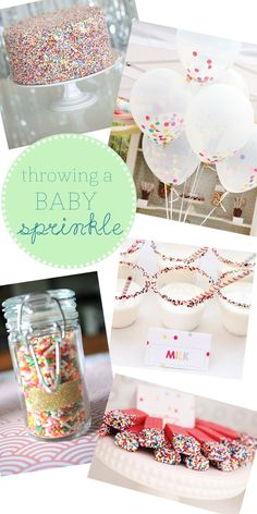 Baby Sprinkle! Shower Party Planning Ideas for Baby 2 or 3