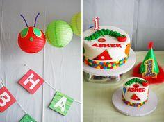 Cute Very Hungrey Caterpillar 1st birthday party!