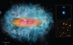 NASA Telescopes Find Clues for How Giant Black Holes Formed So Quickly. One of Two Distant Supermassive Black Hole 'Seed' Candidates Spitzer Space Telescope, Hubble Space Telescope, Cosmos, Nasa Images, Science Articles, Science News, Dark Matter, Out Of This World, Solar System