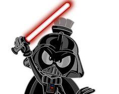 Marvin the Martian as Darth Vader vinyl sticker Looney Tunes Characters, Looney Tunes Cartoons, Cool Cartoons, Disney Cartoons, Warner Brothers, Warner Bros, Bugs Bunny Pictures, Marvin The Martian, Handmade Envelopes