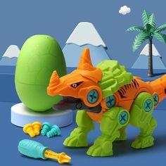 DIY Assembled Dinosaur Toy - Acanthosaurus