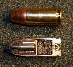 x-section of the armor piercing flechette pistol bullet Military Weapons, Weapons Guns, Guns And Ammo, Reloading Ammo, Ammo Cans, Cool Guns, Self Defense, Rifles, Tactical Gear