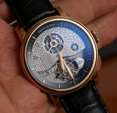Arnold and Son TE8 Métiers d'Art I Tourbillon Watch Hands-On