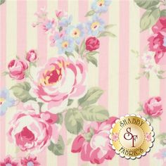 Princess Rose 31264-20 by Lecien Fabrics: Princess Rose is a floral collection by Lecien Fabrics.Width: 43