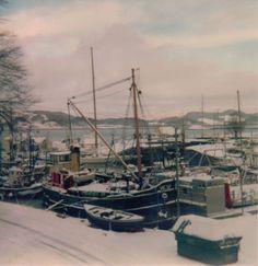14 Snowbound Puffer at Crinan 1979