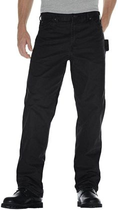 Dickies Men's Sanded Duck Carpenter Jeans