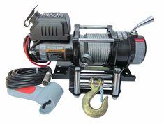 Treuil Electrique Warrior Ninja 2041 kg 24v   ✓ ref: 45SPS24-1   Treuil Warrior Ninja 2041 kg 24 Voltes avec commande filaire, platine de montage et guide cable a rouleau Radio commande en option   ☞ - 0%