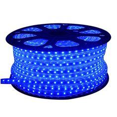 120Volt UL Listed Blue 150ft Waterproof LED Rope Lights For Background  Lighting,outdoor Decorative Lighting