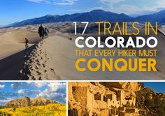 17 Colorado Trails That Should Be On Every Hiker& Bucket List Boulder Colorado, Colorado Springs, Colorado Trail, Colorado Backpacking, Colorado House, Visit Colorado, Backpacking Tips, Camping Tips, Colorado National Monument