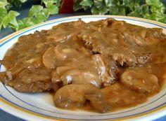 Cube Steak W Mushroom Gravy Recipe - Food.com