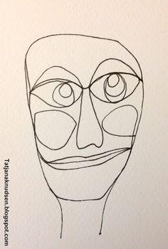 A face - a line - a color.