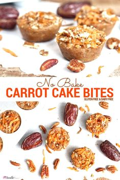 These gluten free and vegan No Bake Carrot Cake Date Bites are packed with potassium and perfect for refueling with after a run!