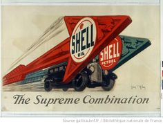 Just a Car Guy: gas stations and gas company advertising, mostly and Old Advertisements, Advertising, Vintage Racing, Vintage Cars, Shell Gas Station, Royal Dutch Shell, Gas Company, Old Gas Stations, Vintage Posters