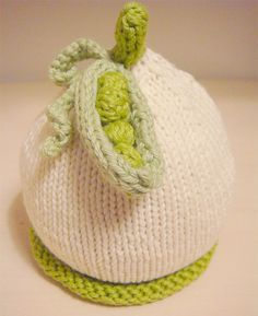 Sweet pea baby hat