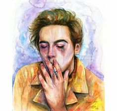 Easy Drawings, Pencil Drawings, Pictures To Draw, Cool Pictures, Deviantart Drawings, Plan Image, Cole Sprouse, Simple Doodles, Gcse Art