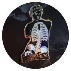 Anatomy of Venus Enamel Pin / Cultural Void