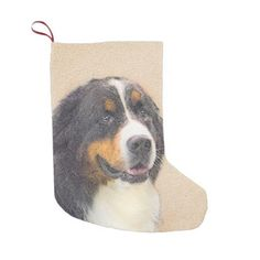 Bernese Mountain Dog Small Christmas Stocking - home gifts ideas decor special unique custom individual customized individualized