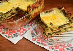 O altfel de lasagna, mai simplă şi mai gustoasă: Lasagna cu spanac şi brânzeturi Spanakopita, Mai, Lasagna, Quiche, Breakfast, Ethnic Recipes, Food, Salads, Lasagne
