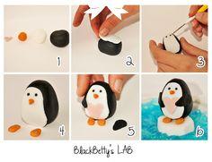 BlackBetty'sLab: Tutorial Pinguim e parcela do Japão