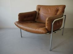 1970 Original Martin Visser Osaka Lounge Chair T Spectrum Cool With Eames Danish