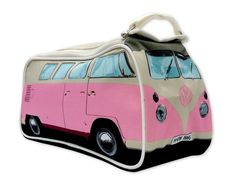 VW Bus Toiletry Bag-Pink VWWP1 | The VW Tent Store-Volkswagen tents, bags, camping equipment