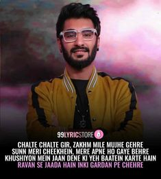 Check out Bollywood @ Iomoio Rap Lyrics, Love Songs Lyrics, Rap Songs, Rap Music, Music Love, Rap Quotes, Movie Quotes, Qoutes, King Rapper