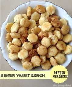 HIDDEN VALLEY RANCH OYSTER CRACKERS - Shore Savings With Patti