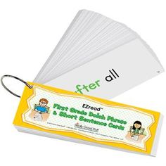 EZread™ Dolch First Grade Phrase