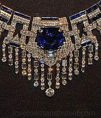 Cartier Sapphire Collar Necklace