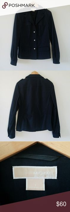 Michael Kors Light Jacket This jacket is in good condition.  Missing the belt but still wearable. Michael Kors Jackets & Coats Blazers