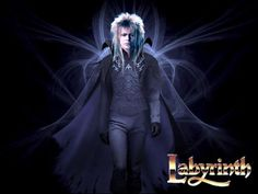 Jareth: The Goblin King of the Labyrinth. I used a few photo-references for Jareth, though obviously I didn't use David Bowie's face. The Goblin King David Bowie Labyrinth, Labyrinth 1986, Labyrinth Movie, Terry Jones, David Jones, Moonage Daydream, Christina Rossetti, Goblin King, Star David