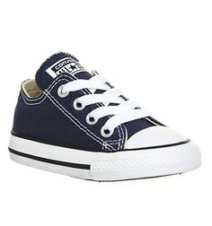 1f0315c8a993e6 Converse All Star Low Infant Shoes Navy - Unisex