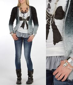 """I need this top! Obsessed with the bow! """"Ombre All The Way"""" www.buckle.com"""