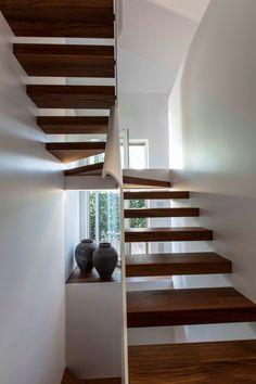 CASA in corten, Lignano Pineta, 2011 #stair #architecture #design #interiors