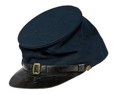 Head Gear; Kepi, Civil War, Union Enlisted, Forage Cap, Pattern 1861.