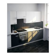 Fastbo kitchen splash back from IKEA.