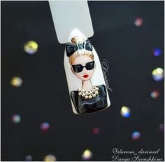 Ideas nails ideas acrylic art tutorials in 2020 Beautiful Nail Designs, Beautiful Nail Art, Gorgeous Nails, Ongles Pin Up, Nail Drawing, Romantic Nails, Feather Nails, Vintage Nails, Fancy Nails